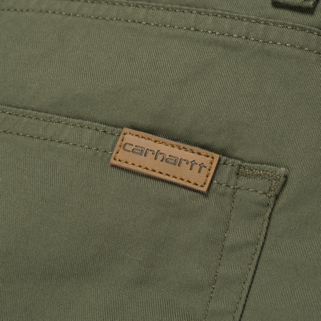 Carhartt Szorty Swell Short Rover Green Rinsed - SS18