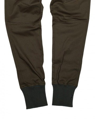 PHENOTYPE Spodnie Olive Knitted Welt Sneaker Pants 2.0