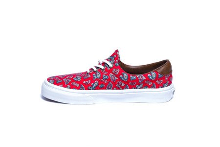 VANS Buty Era 59 (Paisley) High Risk Red